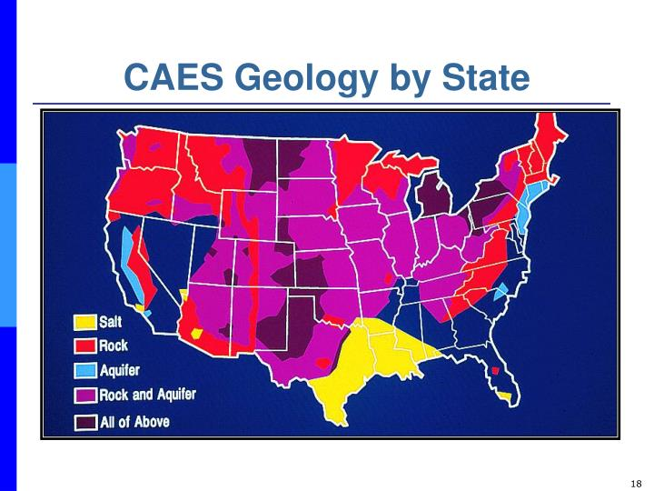 CAES Geology by State