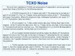 tcxo noise