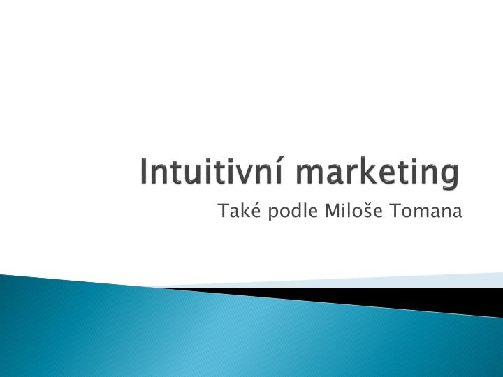 Intuitivn marketing