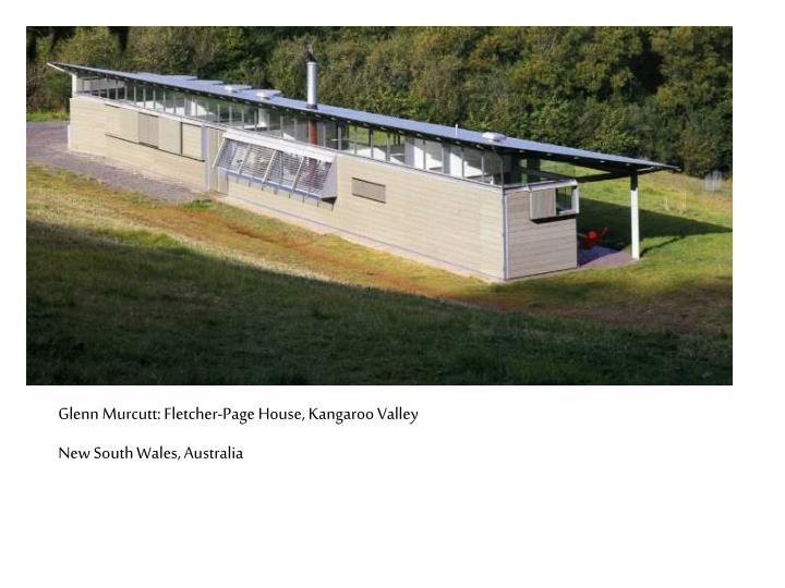 Glenn Murcutt: Fletcher-Page House, Kangaroo Valley