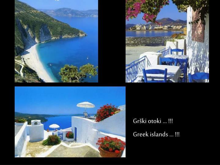 Grški otoki … !!!