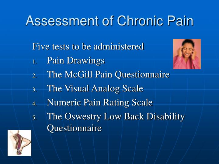 Assessment of Chronic Pain