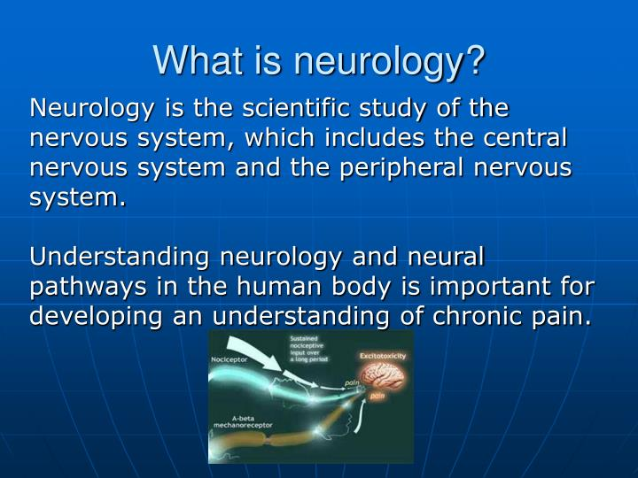 What is neurology?