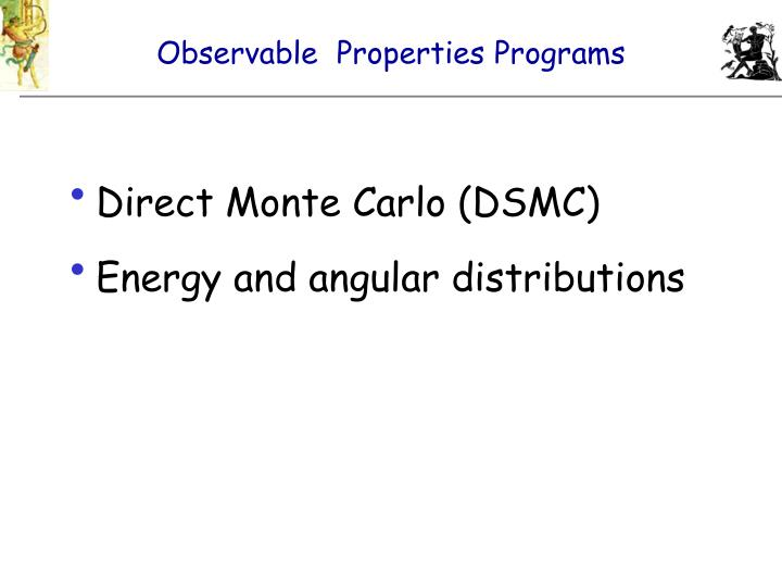 Observable  Properties Programs