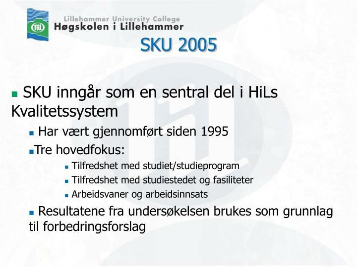 SKU 2005