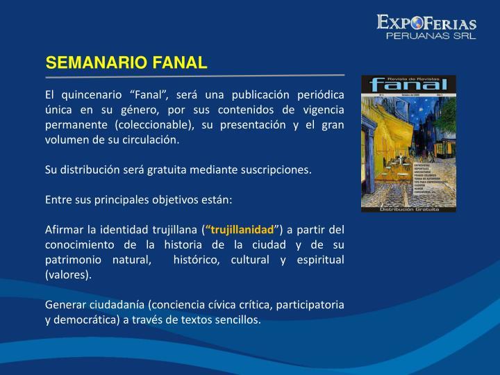 SEMANARIO FANAL