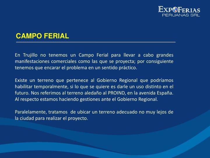 CAMPO FERIAL