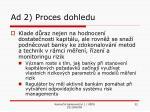 ad 2 proces dohledu
