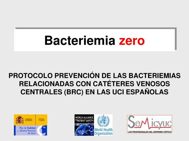 Bacteriemia