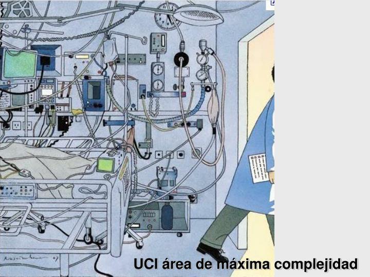 UCI área de máxima complejidad