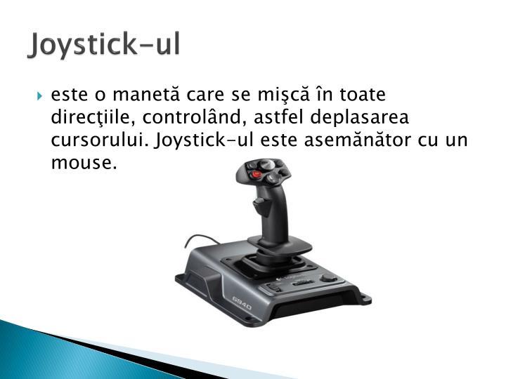 Joystick-ul