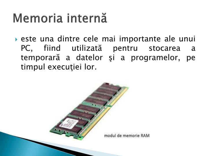 Memoria internă