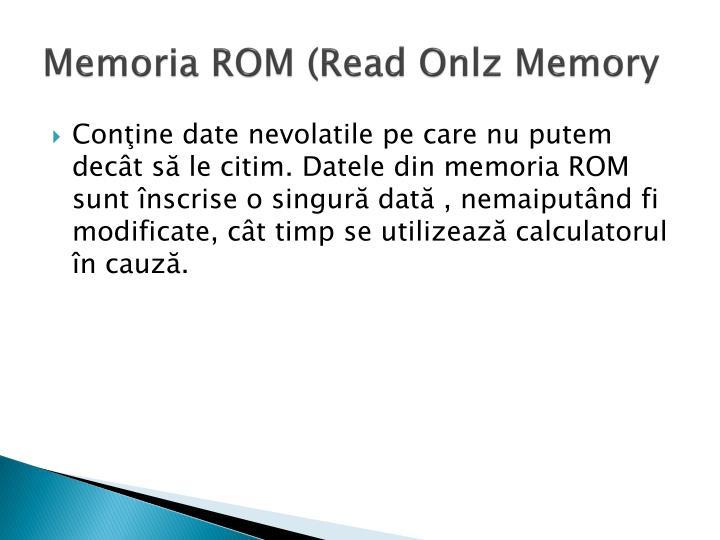 Memoria ROM (