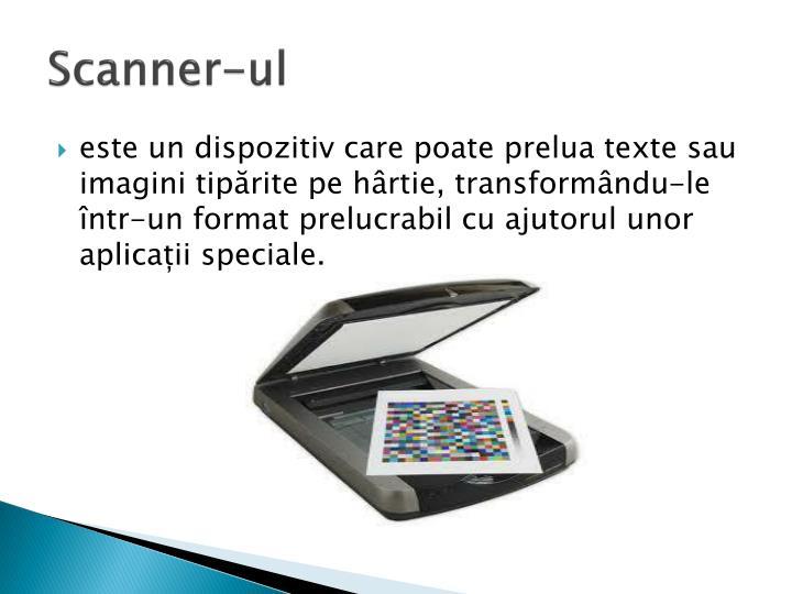 Scanner-ul