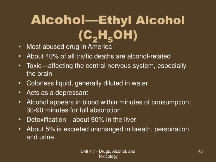 Alcohol—