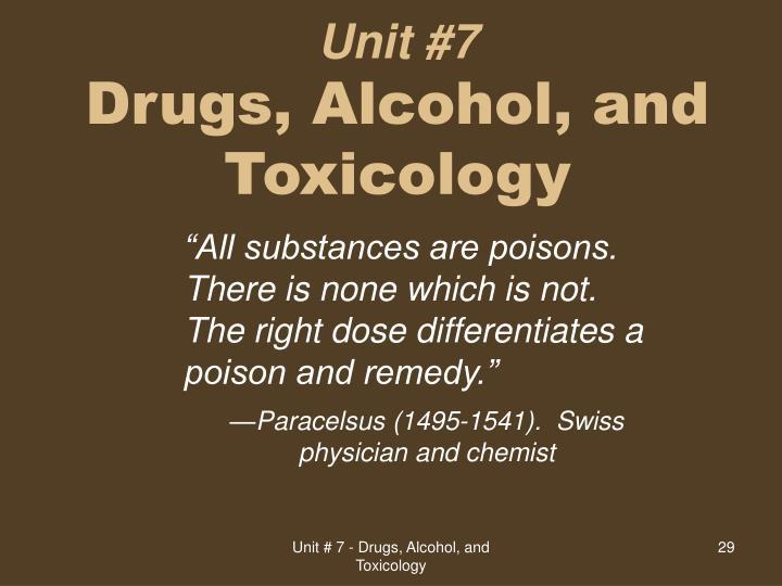 Unit #7