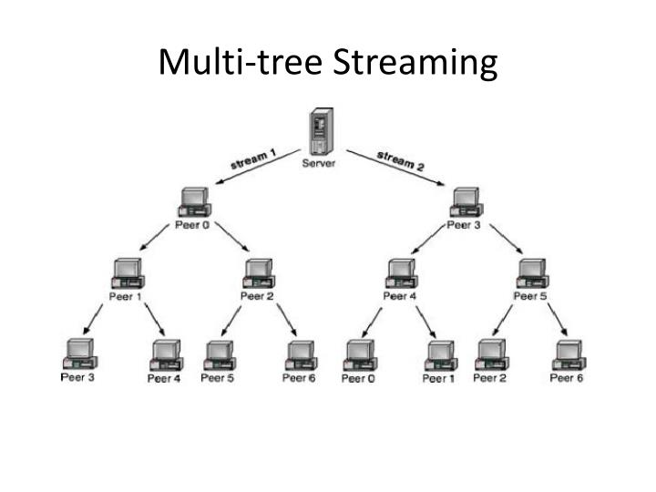 Multi-tree Streaming