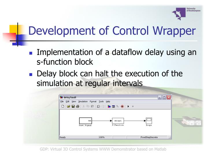 Development of Control Wrapper