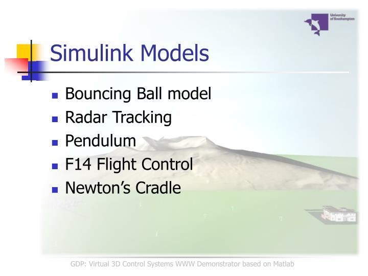Simulink Models