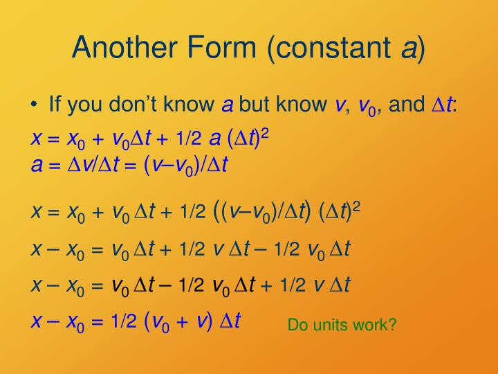 Another Form (constant