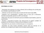 proyecto de convergencia a niif y nai de la sfc7