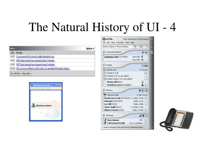 The Natural History of UI - 4