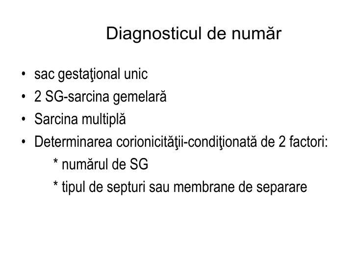 Diagnosticul de număr