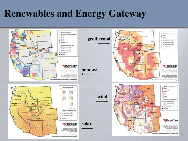 Renewables and Energy Gateway