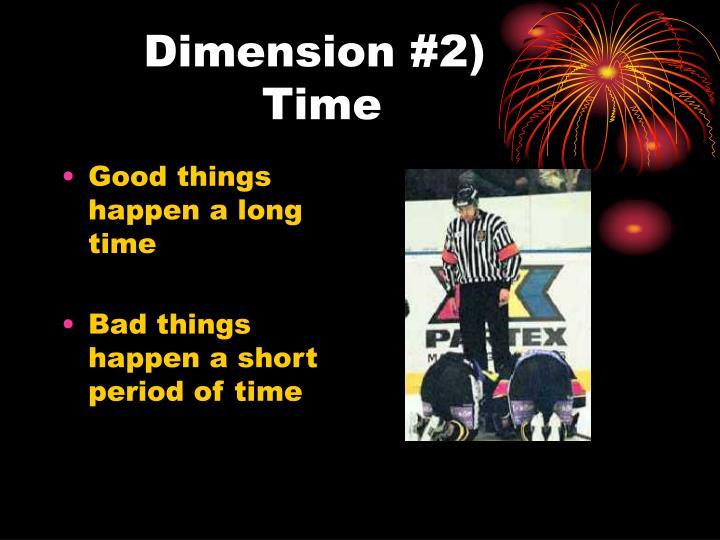 Dimension #2)