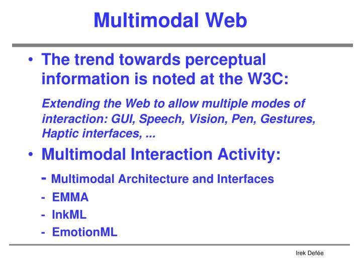 Multimodal Web