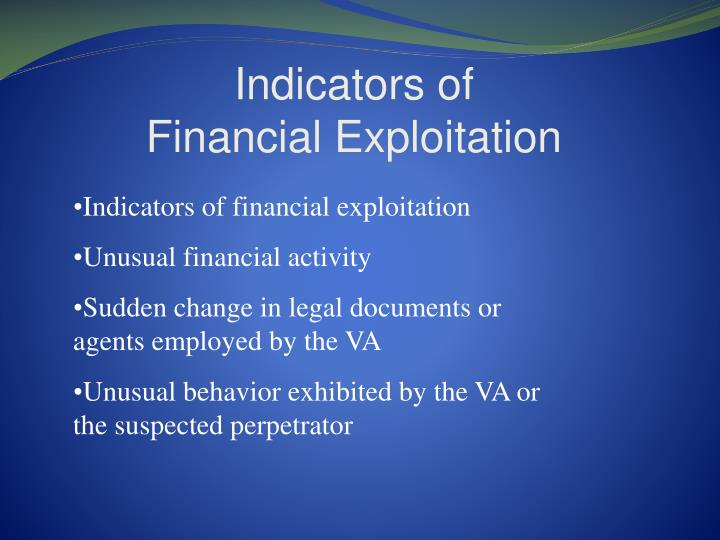 Indicators of