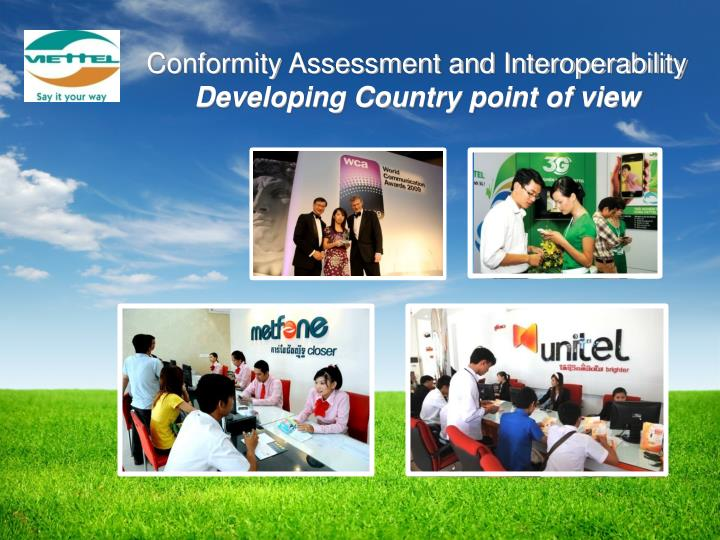 Conformity Assessment and Interoperability