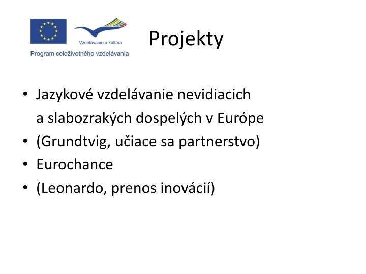 Projekty