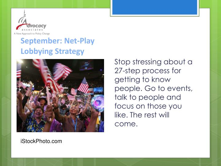September: Net-Play