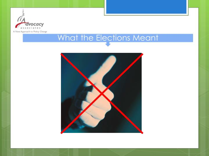 What the Elections Meant