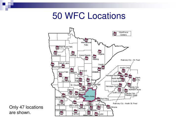 50 WFC Locations