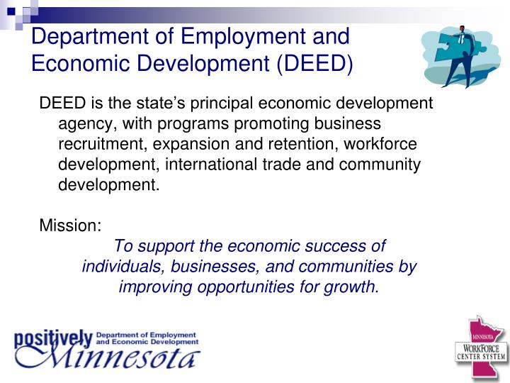 Department of Employment and