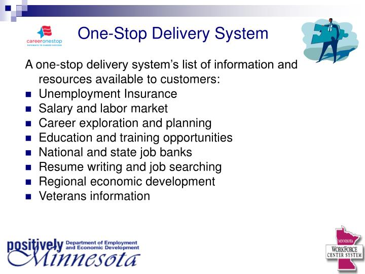 One-Stop Delivery System
