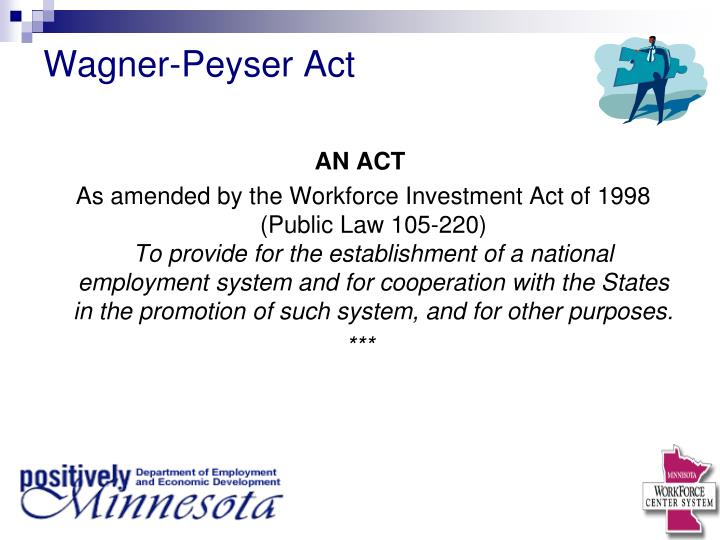 Wagner-Peyser Act