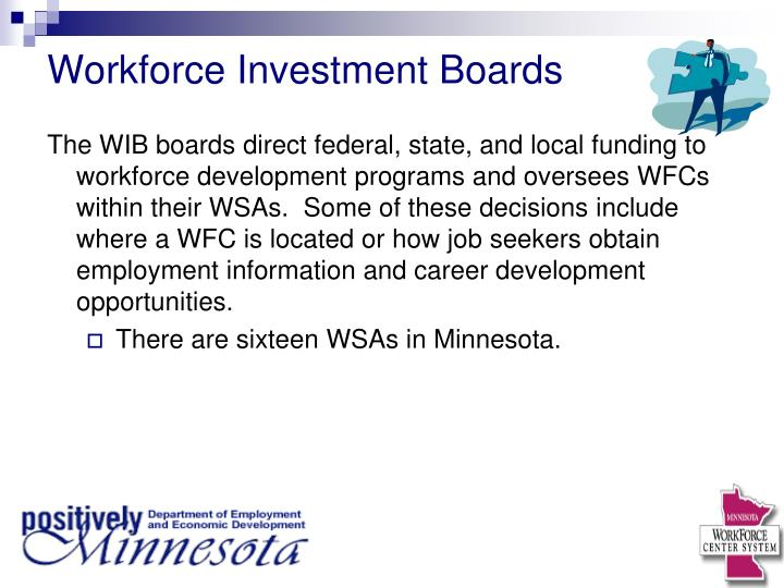 Workforce Investment Boards