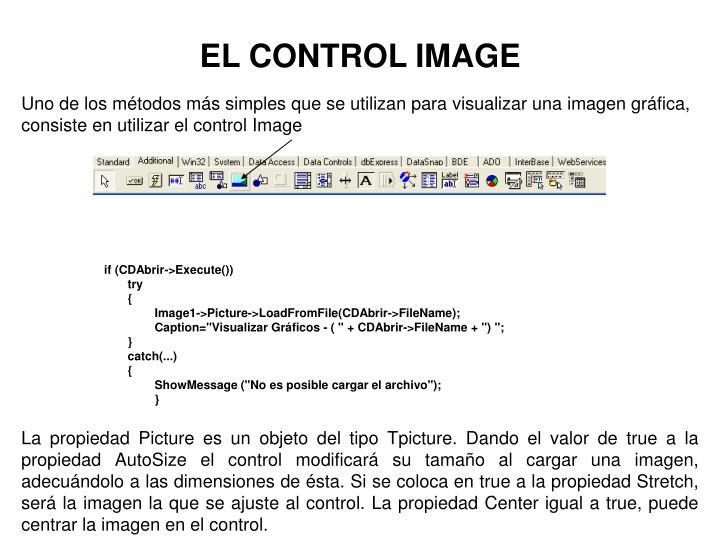 EL CONTROL IMAGE