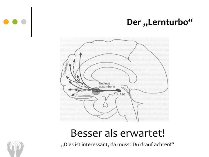 """Der """"Lernturbo"""""""
