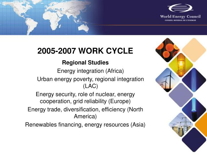2005-2007 WORK CYCLE