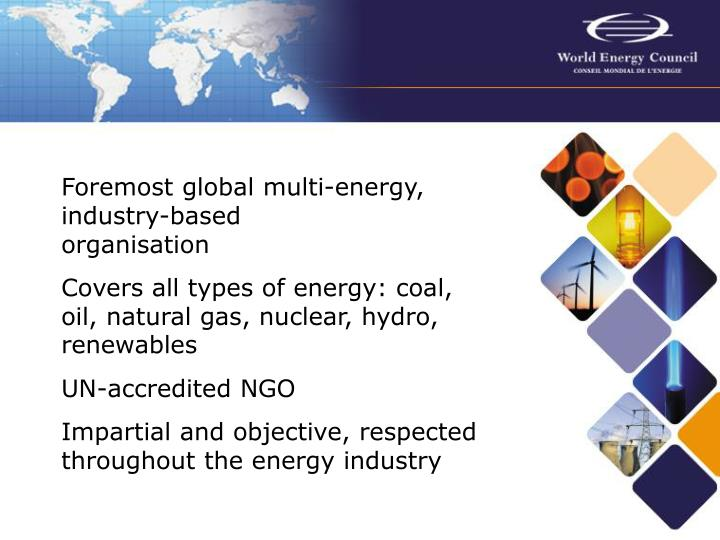 The world energy council