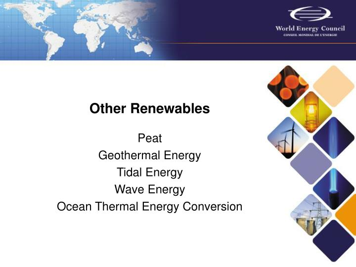 Other Renewables