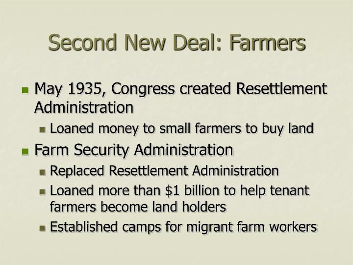 Second new deal farmers1