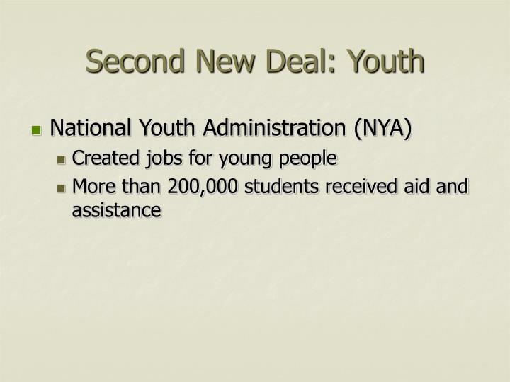 Second New Deal: Youth