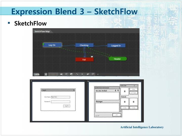 Expression Blend 3 – SketchFlow