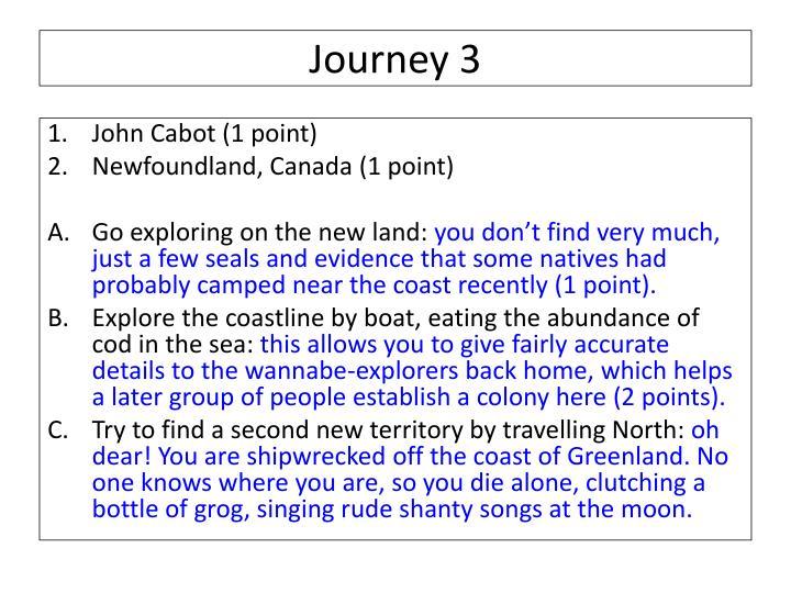 Journey 3