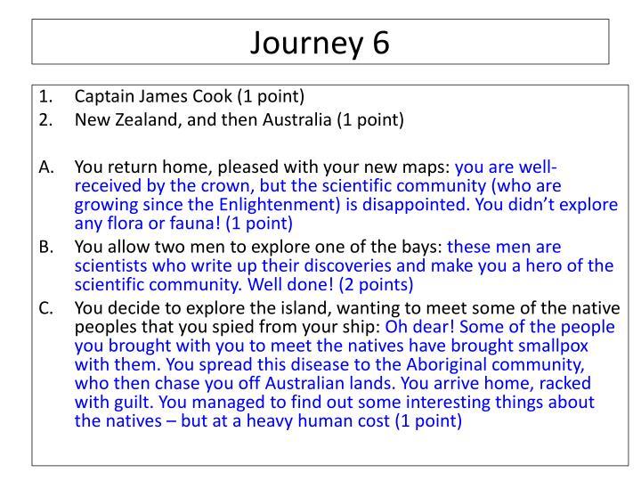 Journey 6